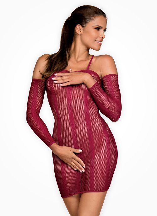Obsessive sukienka bordowa (Dressie)