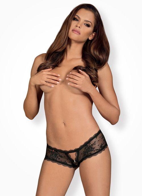 Obsessive szorty czarne (Behindy)