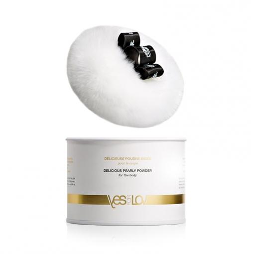 YESforLOV Delicious Pearly Powder jadalny puder do ciała 30 g