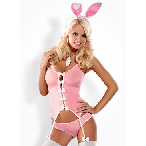 Obsessive kostium króliczka jasnoróżowy (Bunny)