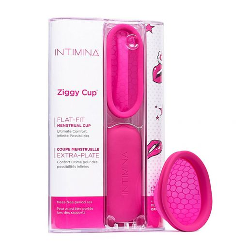 Intimina Ziggy Cup kubeczek menstruacyjny różowy