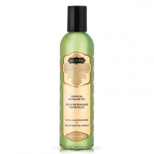 Kama Sutra Naturals olejek do masażu wanilia i drzewo sandałowe 236 ml
