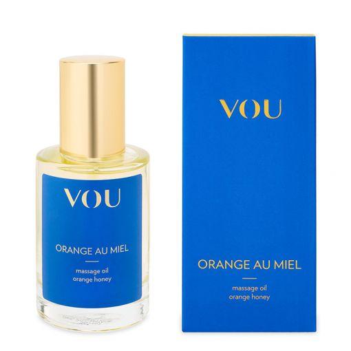 VOU Orange Au Miel naturalny olejek do masażu pomarańcza i miód 100 ml