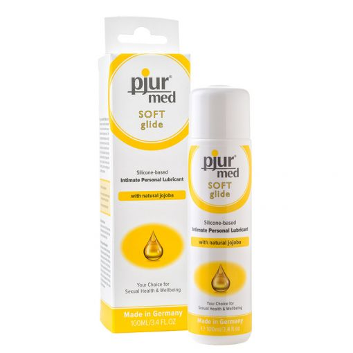 Pjur Med Soft Glide lubrykant silikonowy z olejem jojoba 100 ml