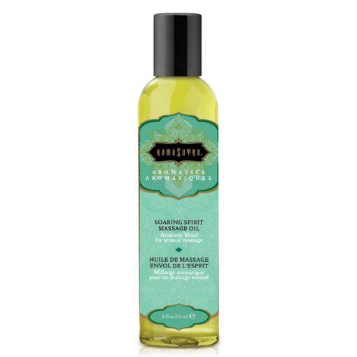 Kama Sutra Aromatic olejek do masażu pomarańcza, cytryna, mięta i imbir 236 ml