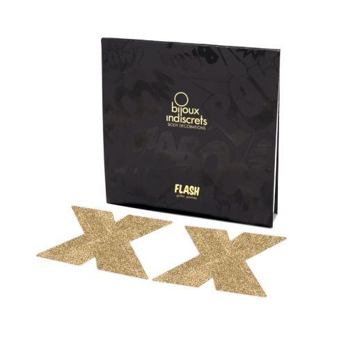 Bijoux Indiscrets Flash nasutniki krzyżyki złote
