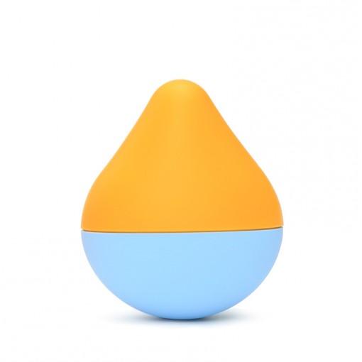 Iroha Mini Sora Mikan masażer łechtaczki błękitno-pomarańczowy