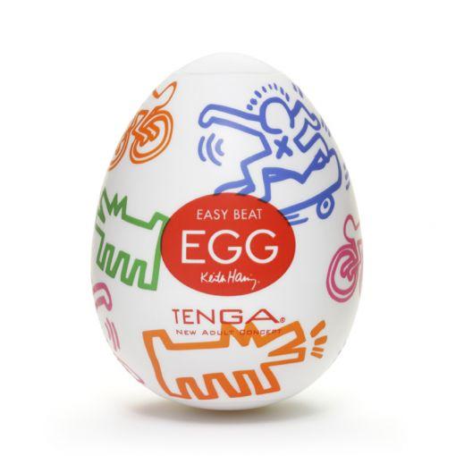 Tenga Egg Keith Haring masturbator w kształcie jajka Street