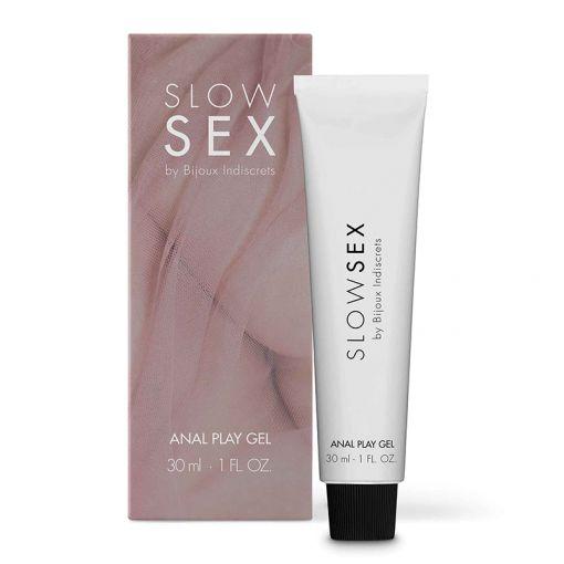 Bijoux Indiscrets Slow Sex relaksująco-nawilżający żel analny 30 ml