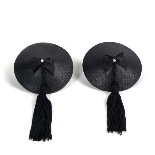 Bijoux Indiscrets Burlesque nasutniki z frędzlami czarne