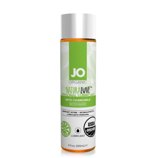System JO Natural Love organiczny lubrykant na bazie wody 120 ml