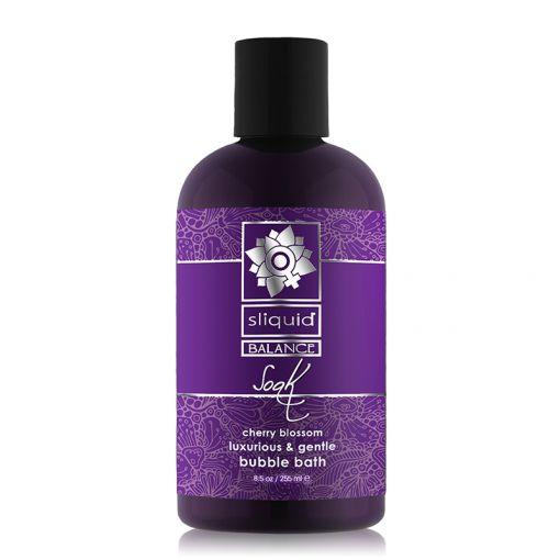 Sliquid Balance Soak płyn do kąpieli we dwoje kwitnąca wiśnia – 225 ml