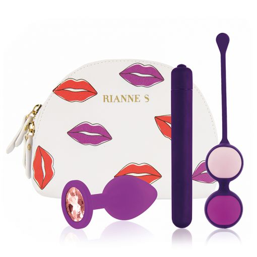 Rianne S First Vibe Kit zestaw pierwszych gadżetów erotycznych