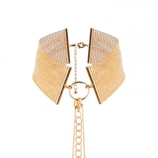 Bijoux Indiscrets Magnifique obroża z łańcuszków złota