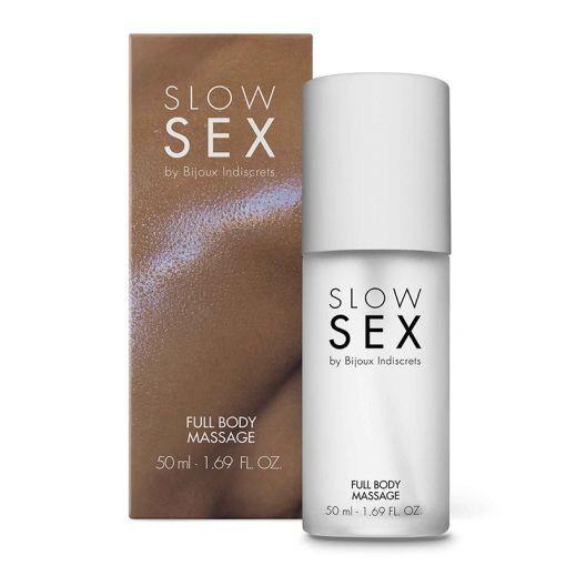 Bijoux Indiscrets Slow Sex silikonowy żel do masażu całego ciała 50 ml