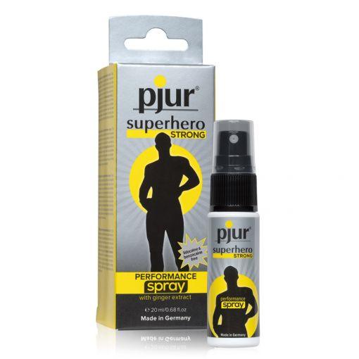 Pjur Superhero Strong spray intensywnie opóźniający wytrysk 20 ml