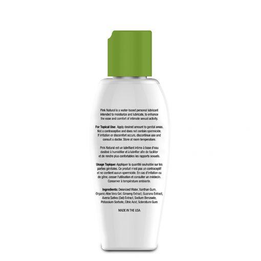 Pink Natural łagodzący lubrykant z organicznym aloesem 80 ml