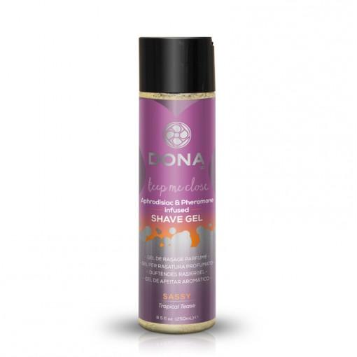 Dona żel do golenia miejsc intymnych Sassy owoce tropikalne 250 ml