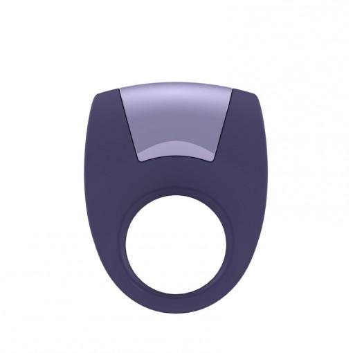 OVO B8 wibrujący pierścień dla par fioletowy