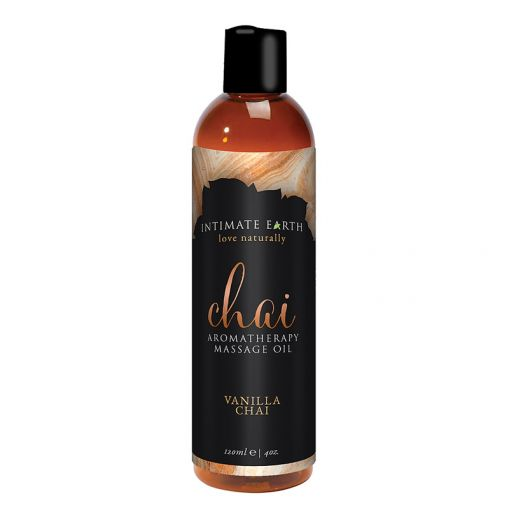 Intimate Earth olejek do masażu Chai waniliowa herbata chai 120 ml