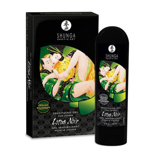 Shunga Lotus Noir organiczny żel dla par zwiększający wrażliwość 60 ml