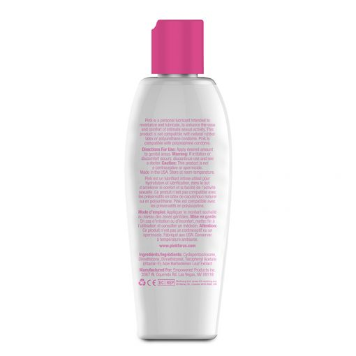 Pink Silicone lubrykant na bazie silikonu 140 ml
