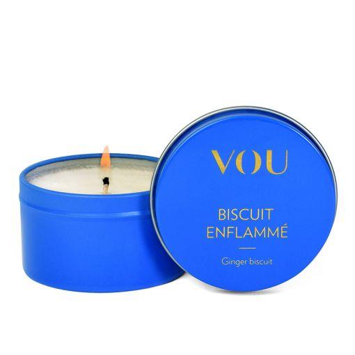 VOU Biscuit Enflamme świeca do masażu herbatnik imbirowy 86 ml