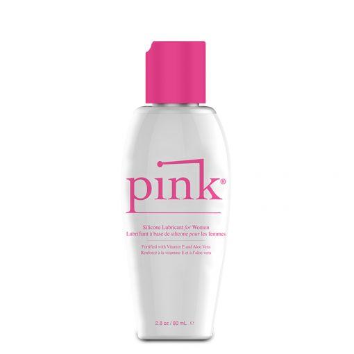 Pink Silicone lubrykant na bazie silikonu 80 ml