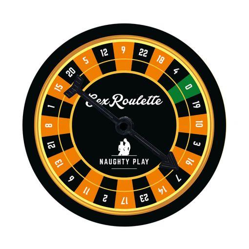 Tease & Please Sex Roulette gra erotyczna dla par Naughty Play - nieprzyzwoite wyzwania