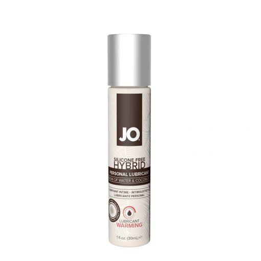 System JO Hybrid kremowy lubrykant wodno-kokosowy rozgrzewający 30 ml