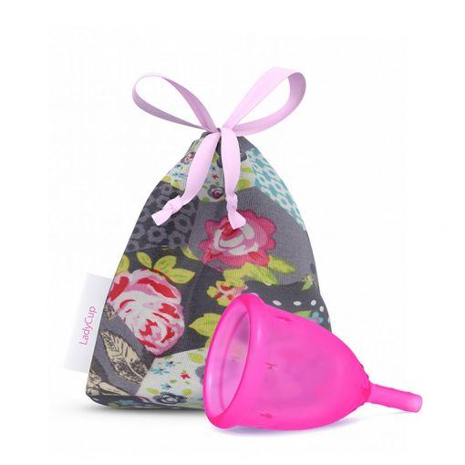 LadyCup kubeczek menstruacyjny różowy rozmiar S
