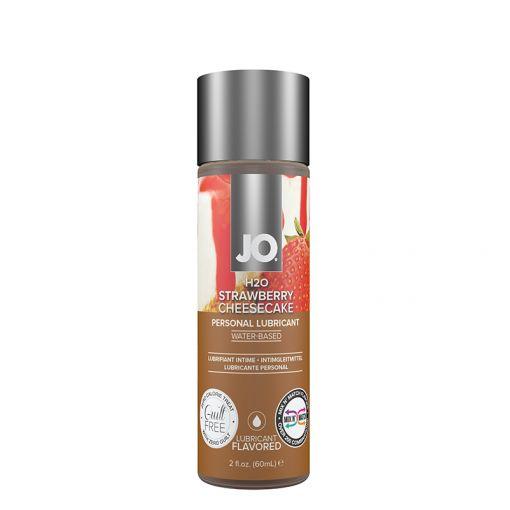 System JO H2O Limited Edition lubrykant smakowy truskawkowy sernik - 60 ml