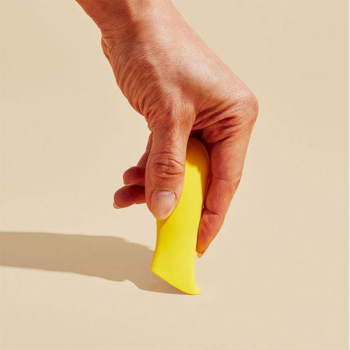 Dame Kip masażer łechtaczki cytrynowy żółty