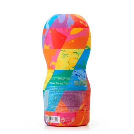 Tenga Standard CUP Rainbow Pride 2019 masturbator Original Vacuum