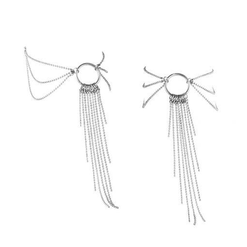 Bijoux Indiscrets Magnifique łańcuszek na stopy srebrny