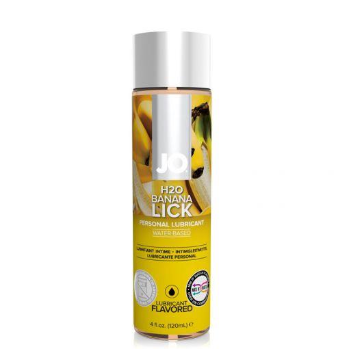 System JO H2O lubrykant smakowy bananowy 120 ml