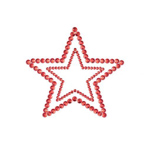 Bijoux Indiscrets Mimi nasutniki gwiazdki czerwone