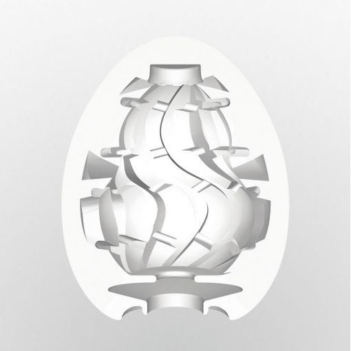 Tenga Egg masturbator w kształcie jajka Twister