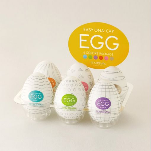 Tenga Egg zestaw 6 masturbatorów seria 6 Colors