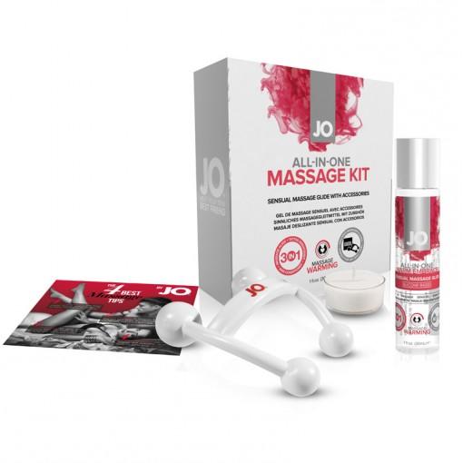 System JO All-In-One prezentowy zestaw do masażu