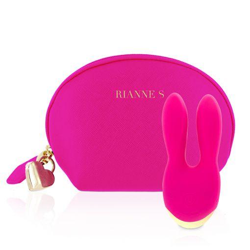 Rianne S Bunny Bliss masażer w kształcie króliczka różowy