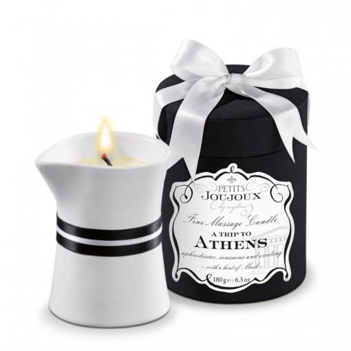 Petits Joujoux świeca do masażu Ateny piżmo i paczula 180 g