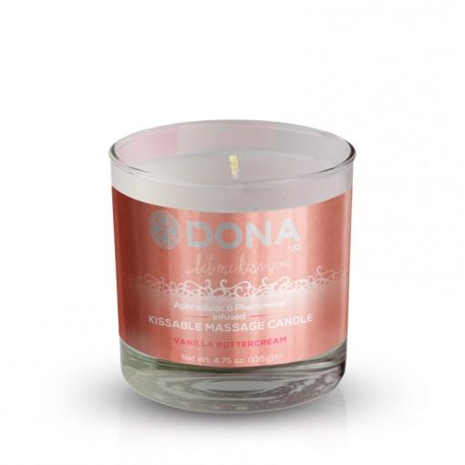 Dona świeca do masażu smakowa krem waniliowy 135 g