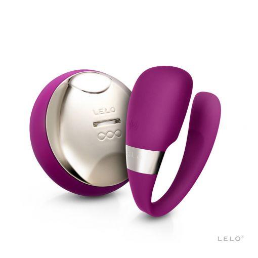 LELO Tiani 3 wibrator dla par ciemnoróżowy