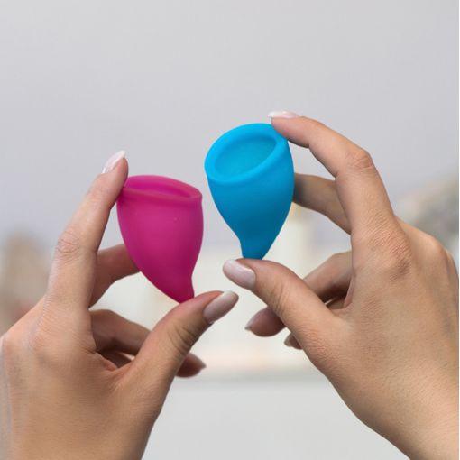 Fun Factory Fun Cup zestaw kubeczków menstruacyjnych rozmiar A - 2 szt.