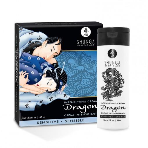 Shunga Dragon krem dla par zwiększający przyjemność łagodny - 60 ml