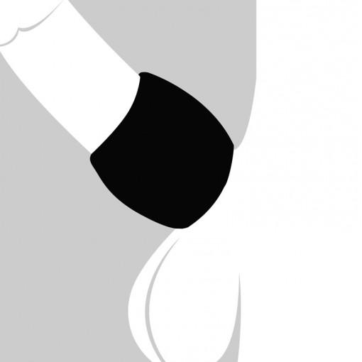 Velv'Or BeauGosse 003 pierścień erekcyjny czarny