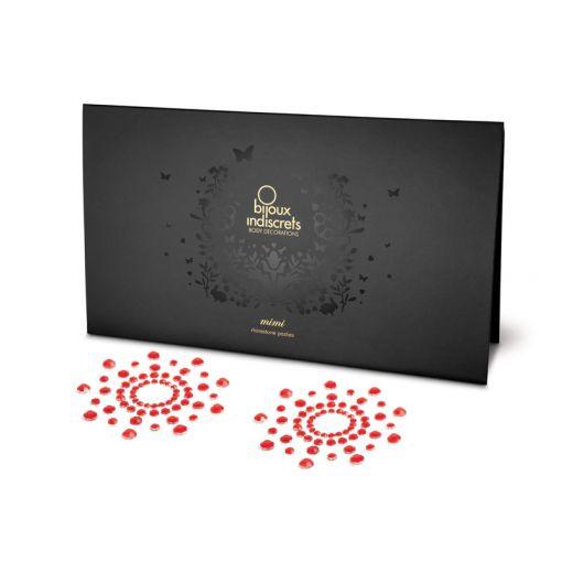 Bijoux Indiscrets Mimi nasutniki czerwone