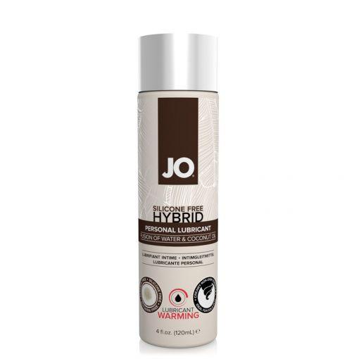 System JO Hybrid kremowy lubrykant wodno-kokosowy rozgrzewający 120 ml