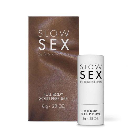 Bijoux Indiscrets Slow Sex perfumy intymne w sztyfcie 8 g
